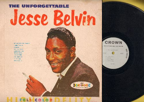 Belvin, Jesse - The Unforgettable Jesse Belvin: You Send Me, I Need You So, Let Me Love You Tonight, Dream House (vinyl MONO LP record) - EX8/VG6 - LP Records