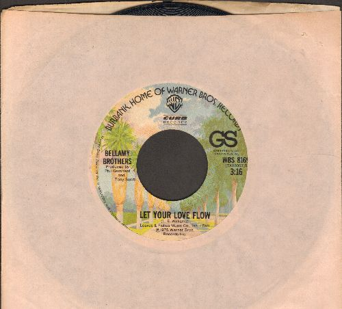 Bellamy Brothers - Let Your Love Flow/Inside My Guitar - EX8/ - 45 rpm Records