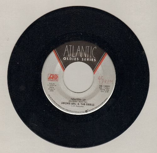 Bell, Archie & The Drells - Tighten Up/I Can't Stop Dancing (authentic-looking double-hit re-issue) - NM9/ - 45 rpm Records