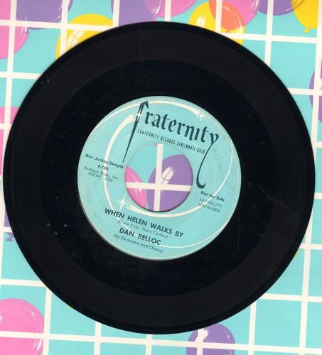 Belloc, Dan - When Helen Walks By/Flip-Flop - EX8/ - 45 rpm Records