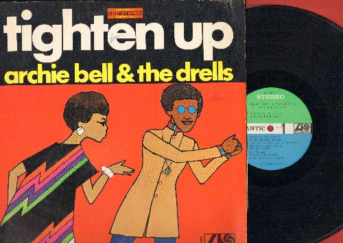 Bell, Archie & The Drells - Tighten Up: You're Mine, Knock On Wood, In The Midnight Hour, A Soldier's Prayer (vinyl STEREO LP record) - VG7/EX8 - LP Records