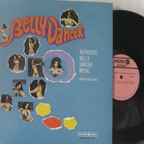 Belly Dancer - Belly Dancer - Authentic Belly Dancer Music with over 30 Selections (vinyl STEREO LP record) - NM9/NM9 - LP Records