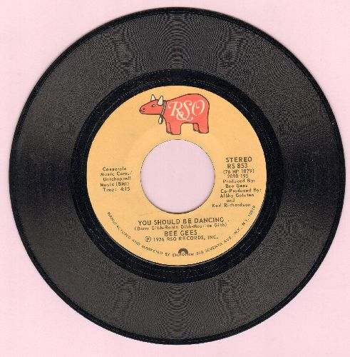 Bee Gees - You Should Be Dancing/Subway  - NM9/ - 45 rpm Records