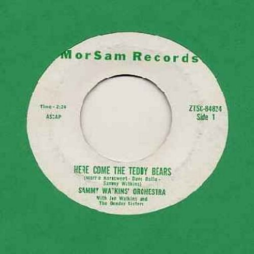 Bender Sisters - Here Come The Teddy Bears/Let's Sing A Song Of Christmas (RARE Vintage Christmas Novelty in the Teddy Bears Picnic Style!) - NM9/ - 45 rpm Records