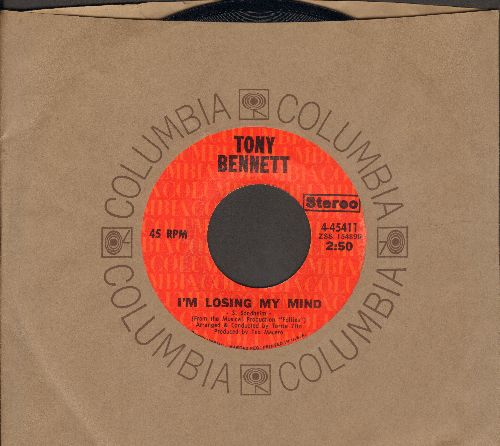 Bennett, Tony - I'm Losing My Mind/More And More (with Columbia company sleeve) - NM9/ - 45 rpm Records