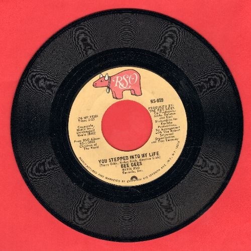 Bee Gees - You Stepped Into My Life/Love So Right - NM9/ - 45 rpm Records
