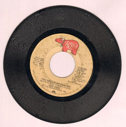 Bee Gees - You Should Be Dancing/Subway  - VG7/ - 45 rpm Records