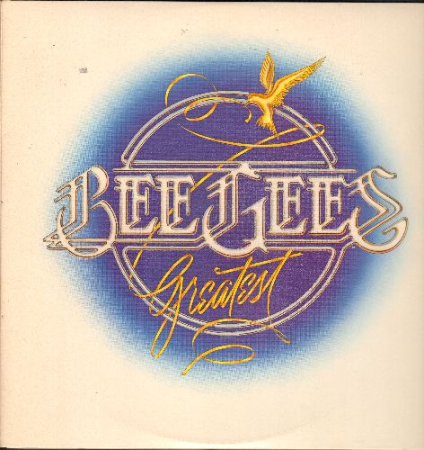Bee Gees - Bee Gees Greatest: Jive Talkin', Night Fever, Stayin' Alive, Nights On Broadway, Too Much Heaven, You Should Be Dancing (2 vinyl STEREO LP records, gate-fold cover) - NM9/EX8 - LP Records