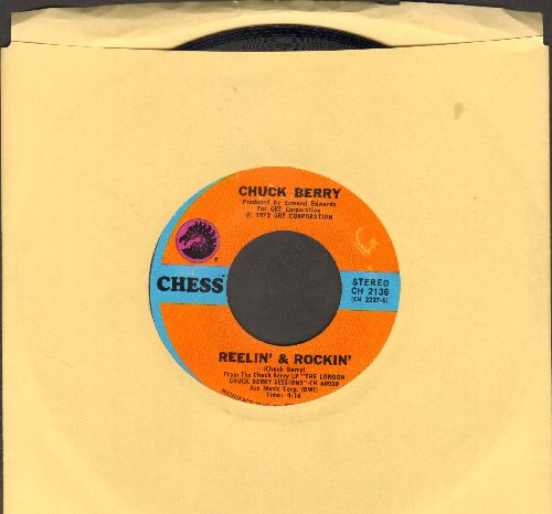 Berry, Chuck - Reelin' & Rockin'/Let's Boogie - NM9/ - 45 rpm Records