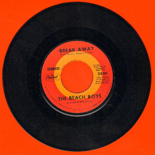 Beach Boys - Break Away/Celebrate The News - EX8/ - 45 rpm Records