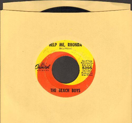 Beach Boys - Help Me, Rhonda/Kiss Me, Baby - EX8/ - 45 rpm Records