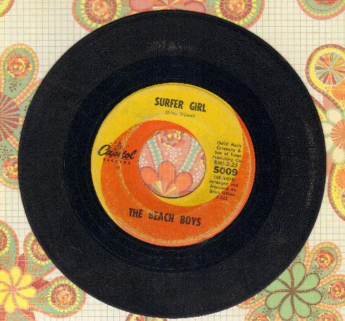 Beach Boys - Surfer Girl/Little Deuce Coupe  - VG6/ - 45 rpm Records