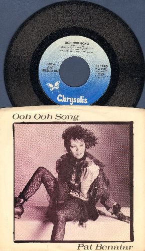 Benatar, Pat - Ooh Ooh Songs/La Cancion Ooh Ooh (with picture sleeve) - NM9/EX8 - 45 rpm Records