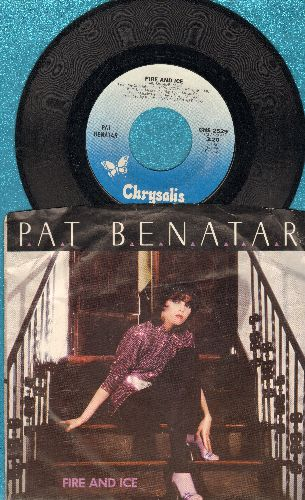 Benatar, Pat - Fire And Ice/Hard To Believe (with picture sleeve) - NM9/EX8 - 45 rpm Records