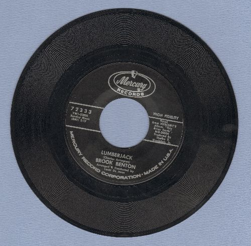 Benton, Brook - Lumberjack/Don't Do What I Did (Do What I Say)  - EX8/ - 45 rpm Records