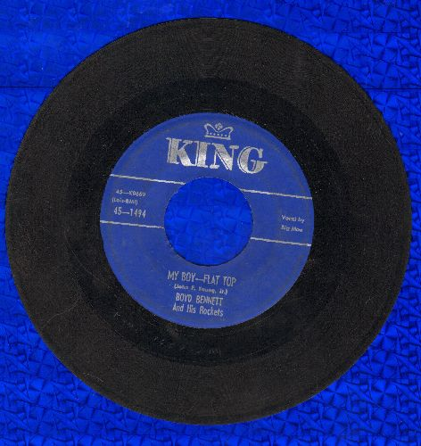 Bennett, Boyd & His Rockets - My Boy-Flat Top/Banjo Rock And Roll - VG6/ - 45 rpm Records