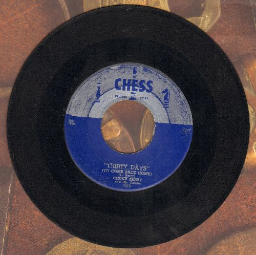 Berry, Chuck - Thirty Days/Together - VG6/ - 45 rpm Records