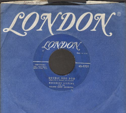 Beverly Sisters - Doodle Doo Doo/Blow The Wind Southerly (with London company sleeve) - VG6/ - 45 rpm Records