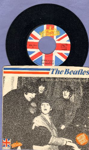 Beatles - Be-Bop-A-Lula/Hallelujah I Love Her So (re-issue with picture sleeve) - NM9/EX8 - 45 rpm Records