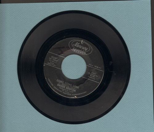 Benton, Brook - Going Going Gone/After Midnight (bb) - NM9/ - 45 rpm Records