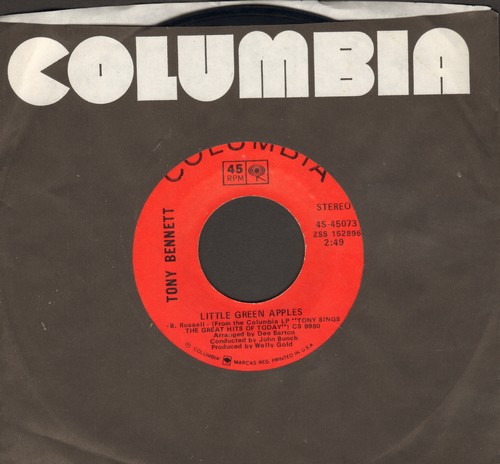 Bennett, Tony - Little Green Apples/Coco - EX8/ - 45 rpm Records