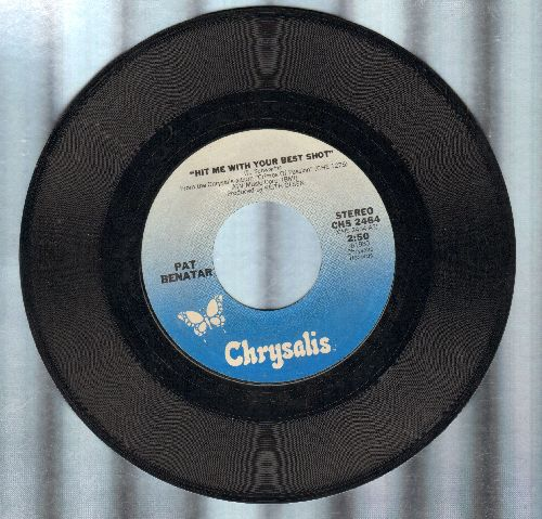 Benatar, Pat - Hit Me With Your Best Shot/Prisoner Of Love  - EX8/ - 45 rpm Records