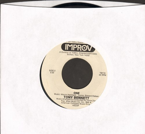Bennett, Tony - One (FANTASTIC cover version of the hit from Broadway Musical -A Chorus Line-)/Mr. Magic - M10/ - 45 rpm Records