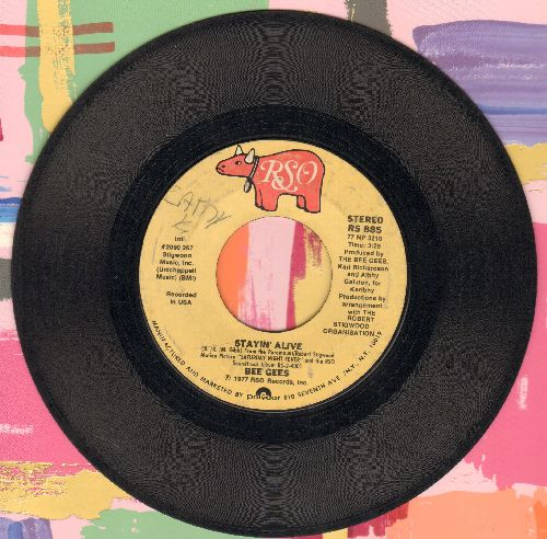 Bee Gees - Stayin' Alive/If I Can't Have You  - VG6/ - 45 rpm Records