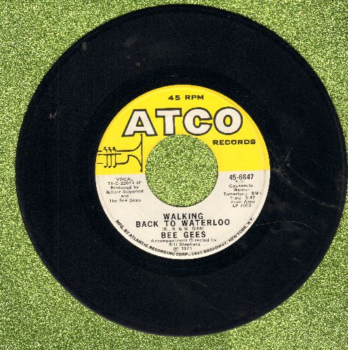 Bee Gees - Walking Back To Waterloo/Don't Wanna Live Inside Myself - EX8/ - 45 rpm Records