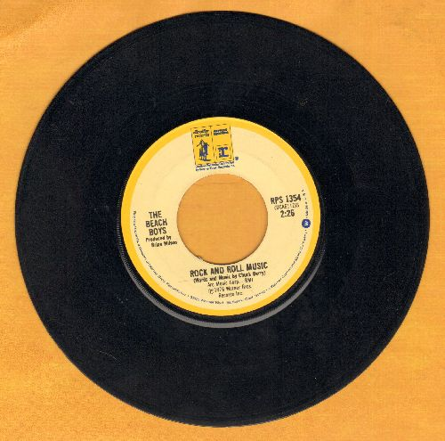 Beach Boys - Rock And Roll Music/The T M Song - VG7/ - 45 rpm Records