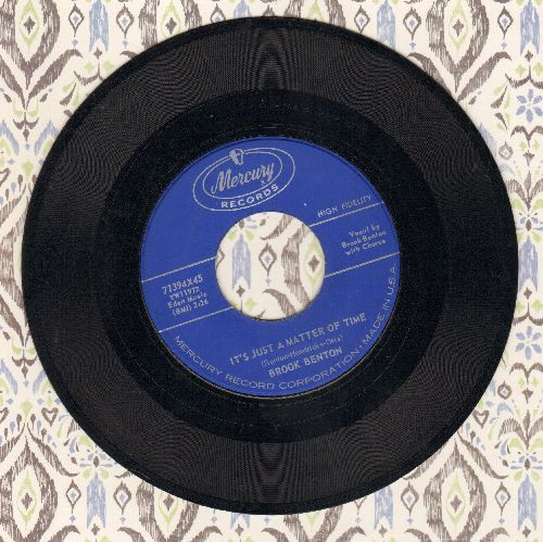 Benton, Brook - It's Just A Matter Of Time/Hurtin' Inside (blue label) - EX8/ - 45 rpm Records