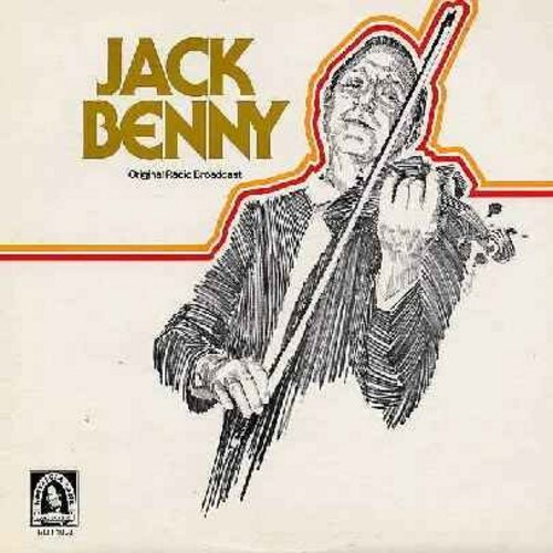 Benny, Jack - The Jack Benny Program - 2 Complete Original Broadcasts of Jack Benny's Radio Show, Feb. 12, 1950 and April 25, 1948. Jack Benny was 39 years old when both of these shows were originally aired! (vinyl LP record) - M10/NM9 - LP Records