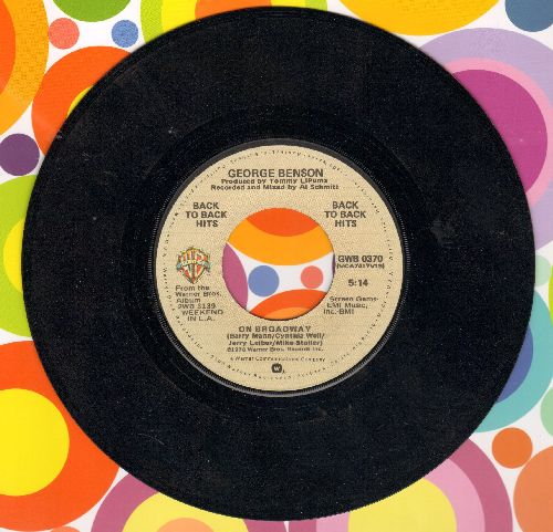 Benson, George - On Broadway/Lady Blue (double-hit re-issue) - NM9/ - 45 rpm Records