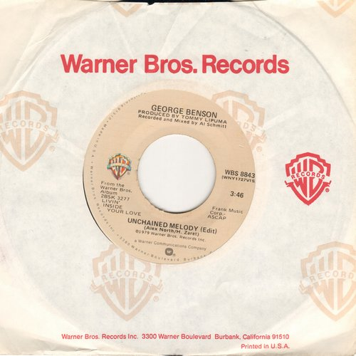 Benson, George - Unchained Melody/Before You Go - NM9/ - 45 rpm Records