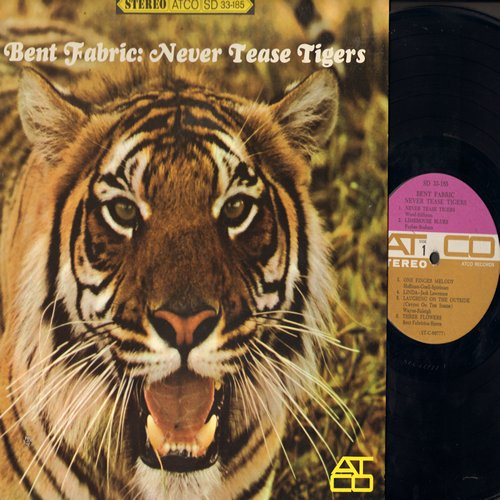 Fabric, Bent & His Orchestra - Never Tease Tigers: Linda, One Finger Melody, Memories Of You, Pretty Baby, Theme From -La Boheme- (vinyl STEREO LP record) - NM9/NM9 - LP Records