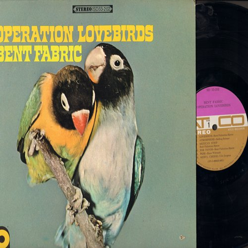 Fabric, Bent & His Orchestra - Operation Lovebirds: Mexican Strip, Pepe, Summerwind, Say Boom Boom, Blue Flamingoes, Atmosphere (vinyl STEREO LP record) - EX8/EX8 - LP Records