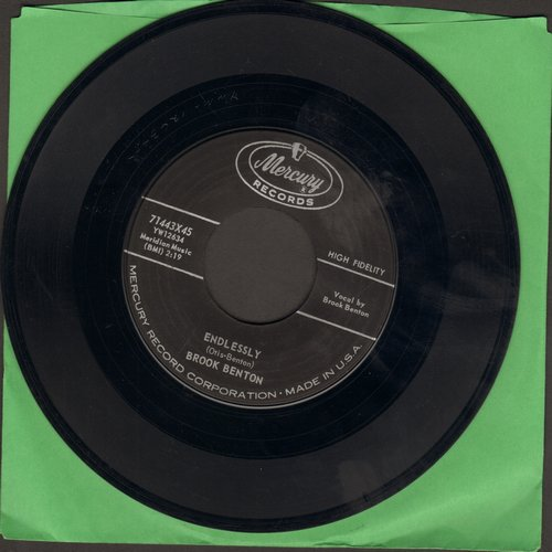 Benton, Brook - Endlessly/So Close - NM9/ - 45 rpm Records