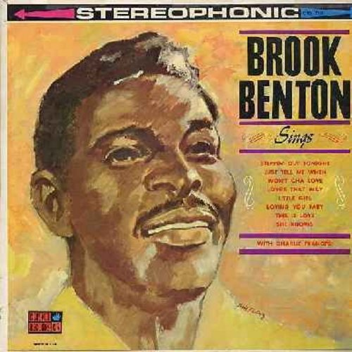Benton, Brook - Brook Benton Sings: Just Tell Me When, The Thrill Is Gone, Steppin' Out Tonight, Be Careful It's My Heart, You Do Something To Me (vinyl STEREO LP record) - EX8/EX8 - LP Records