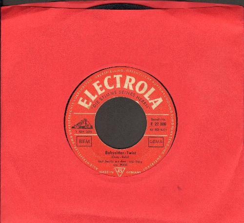 Bendix, Ralf - Babysitter-Twist/Wo ist denn das Kaetzchen? (German pressing, sung in German) - G5/ - 45 rpm Records