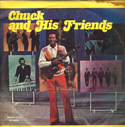 Berry, Chuck, Little Richard, Teen Queens, Johnny Ace, others - Chuck And His Friends: Johnny B. Goode, Tutti Frutti, Eddie My Love, Rescue Me, Tequila, Soldier Boy (3 vinyl LP reocord set, re-issue of vintage recordings) - NM9/VG7 - LP Records