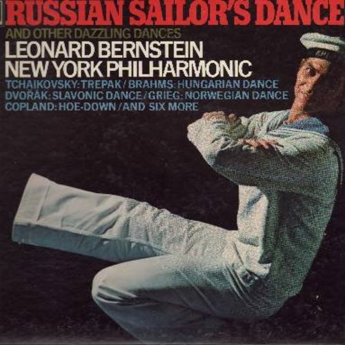 Bernstein, Leonard & New York Philharmonic - Russian Sailor's Dance and other Dances (vinyl STEREO LP record) - M10/EX8 - LP Records