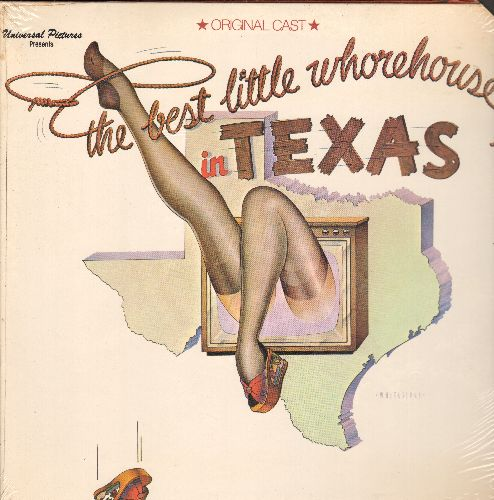Best Little Whorehouse In Texas - The Best Little Whorehouse In Texas - Original Cast Recording (vinyl STEREO LP record, gate-fold cover, SEALED, never opened, upper right cover corner cut out) - SEALED/SEALED - LP Records