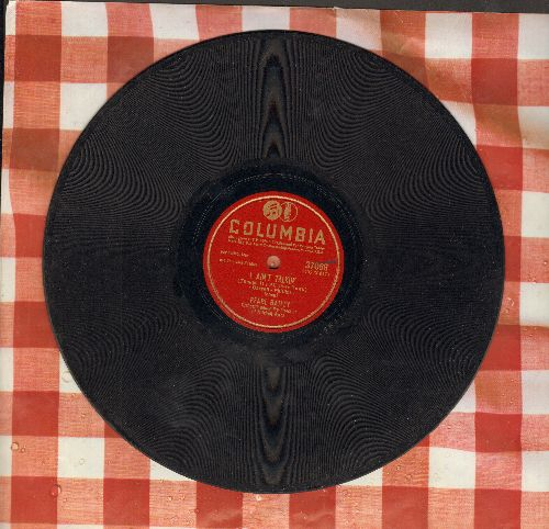 Bailey, Pearl - I Ain't Talkin' (Though It's All Over Town/He Didn't Ask Me (10 inch 78rpm record) - VG7/ - 78 rpm