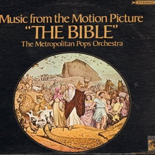 Metropolitan Pops Orchestra - The Bible - Music From The Motion Picture (vinyl STEREO LP record) - NM9/EX8 - LP Records