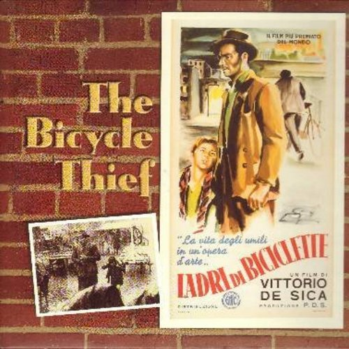 The Bicycle Thief - The Bicycle Thief - The 1948 Vittorio De Sica Classic, with English subtitles - This is a LASER DISC, NOT ANY OTHER KIND OF MEDIA! - NM9/NM9 - Laser Discs