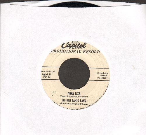 Big Ben Banjo Band - Anna Lisa (English version of popular 1953 German Party Song -Anneliese-)I.O.U. Polka (DJ advance pressing) - VG7/ - 45 rpm Records