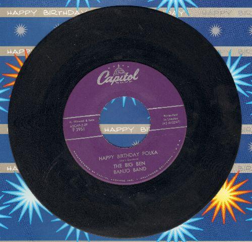 Big Ben Banjo Band - Anna Lisa (English version of popular 1953 German Party Song -Anneliese-)I.O.U. Polka  - EX8/ - 45 rpm Records