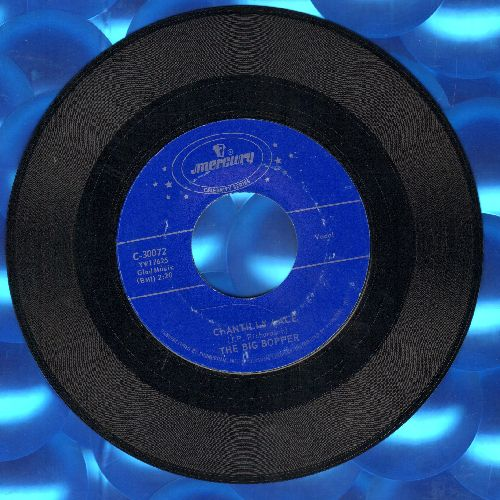 Big Bopper - Big Bopper's Wedding/Chantilly Lace (authentic-looking double-hit re-issue) - EX8/ - 45 rpm Records