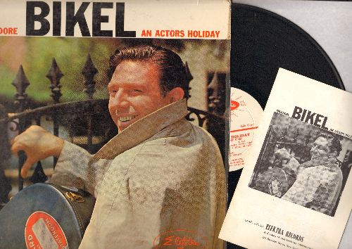 Bikel, Theodore - An Actors Holiday: Khag Laro'e, Le Mineur, Los Cuatro Muleros, Welcum To ScotlandScalinatella, Stenka Razin (vinyl MONO LP record, with BONUS Song Lyrics Bruchure) - EX8/VG6 - LP Records