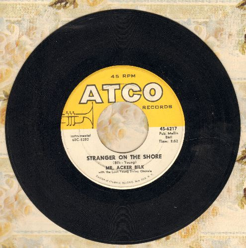 Bilk, Mr. Acker - Stranger On The Shore/Cielito Lindo - NM9/ - 45 rpm Records